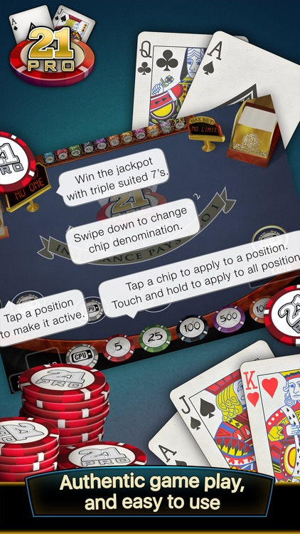 21 Pro: Blackjack Multi-Hand screenshot-3