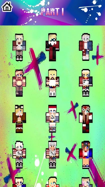 Skins for Harley & Suicide Squad for Minecraft