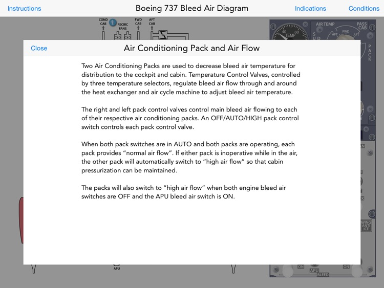 Boeing 737 NG Bleed Air System screenshot-4