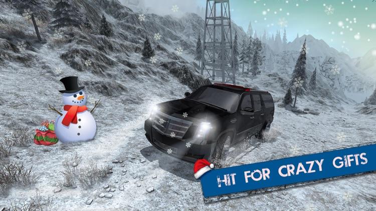 Offroad Escalade Snow Driving – 4x4 Crazy Drive 3D screenshot-3