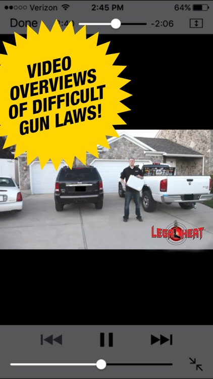 Legal Heat - 50 State Guide to Firearm Law