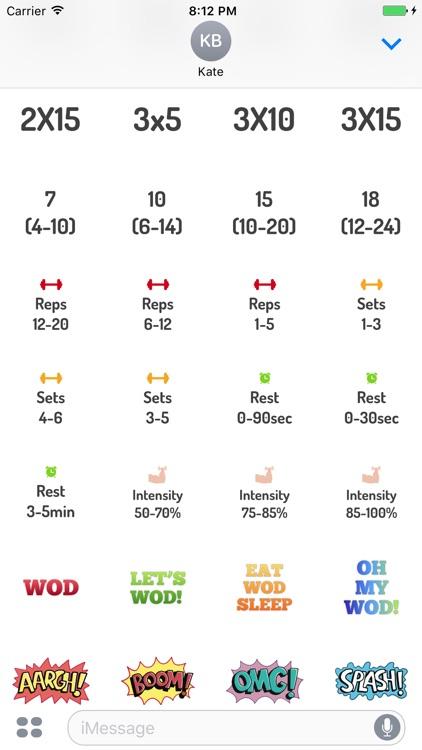 Body Building Fitness & Gym Stickers