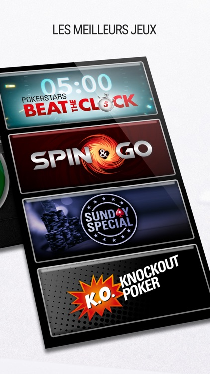 PokerStars: Jeux de Poker Gratuit et Texas Holdem screenshot-4