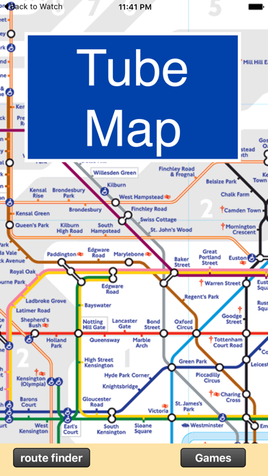 London Underground Route Planner