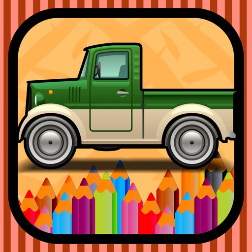 My Cars Games Free Coloring Book App For Kids By Khampol Pimsri
