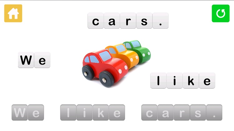 Sentence Maker: Educational Learning Game for Kids