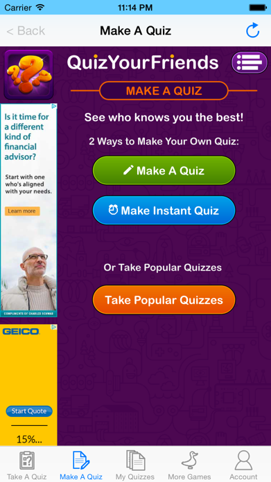 Quiz Your Friends - See who knows you the best! Screenshot