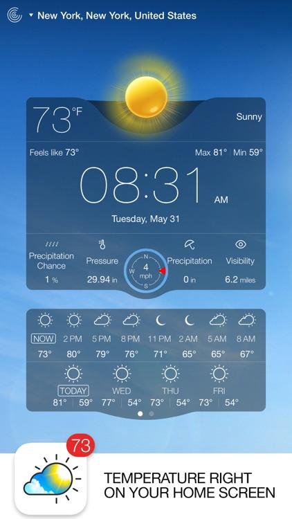 Weather Live - Weather Forecast, Radar, and Alerts screenshot-0