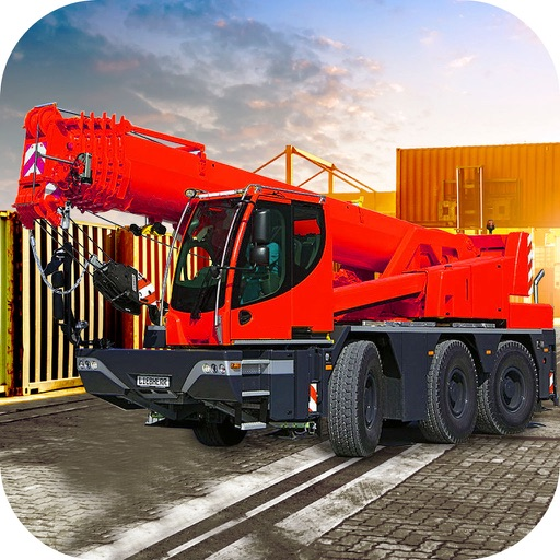 Loader Crane Simulator : Super Challeng-ing drive icon