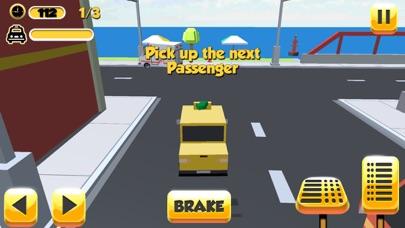 Taxi Driver Sim 3D Screenshot