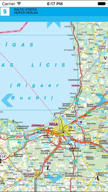 Baltics. Road map. screenshot-3