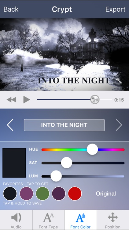 Intro Designer for iMovie and Youtube screenshot-4