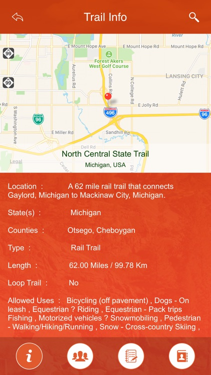 Michigan State Parks & Trails screenshot-3