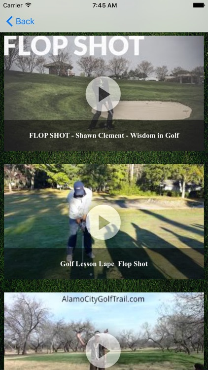 Golf Training and Coaching