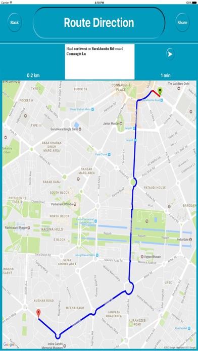 Delhi India Offline City Maps Navigation review screenshots