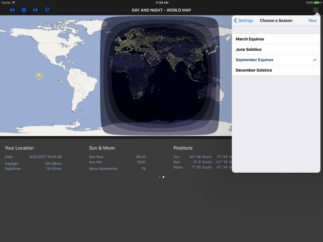 Day and night world map one day and night in lisbon portugal day and night world map day u0026 night u2013 world map on the app store gumiabroncs Choice Image