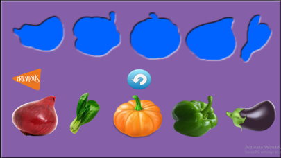 Enjoyable Learning of Vegetable Names for Toddlers screenshot one