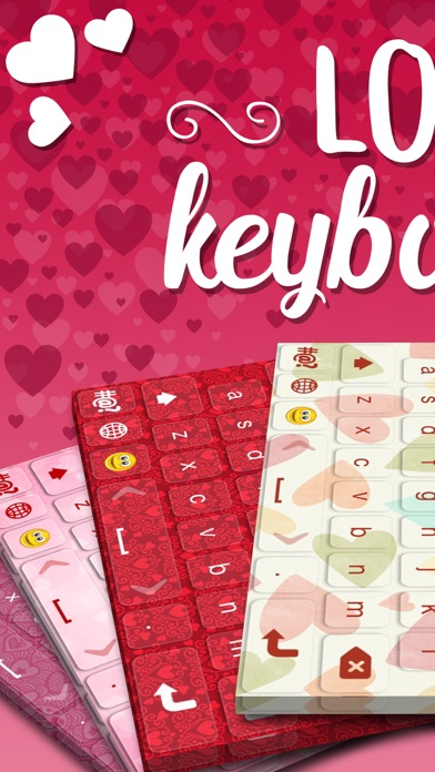 Love Keyboard Special Edition with Best Themes