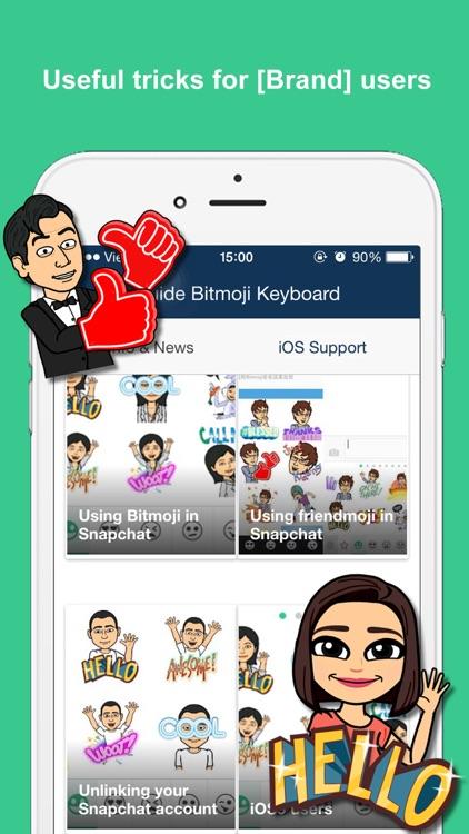 Guide for Bitmoji Keyboard - Your Avatar Emoji
