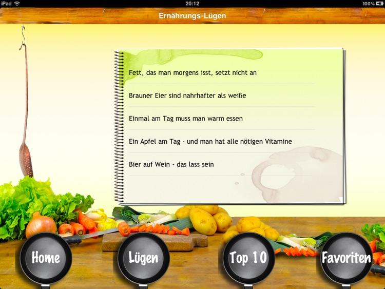 Ernährungs-Lügen - 100 Märchen über gesundes Essen screenshot-4