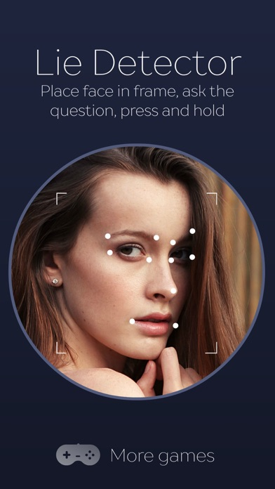 Lie Detector Face scanner simulator. Real prank screenshot one