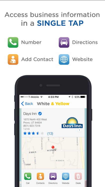 White & Yellow Pages screenshot-1