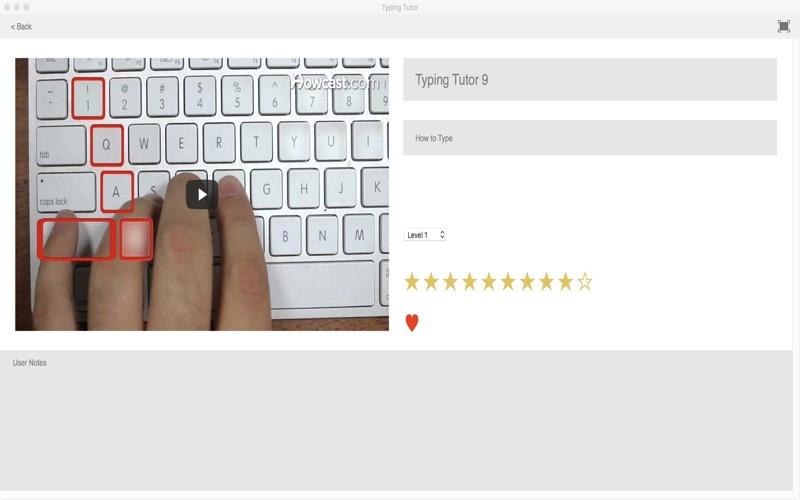 Typing Tutor screenshot 3