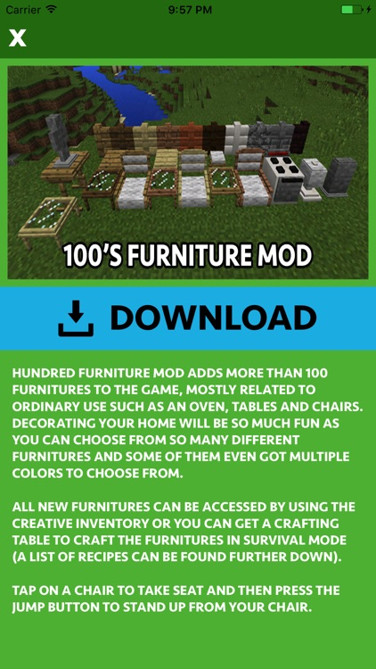 FURNITURE MODS FOR MINECRAFT PC screenshot-3