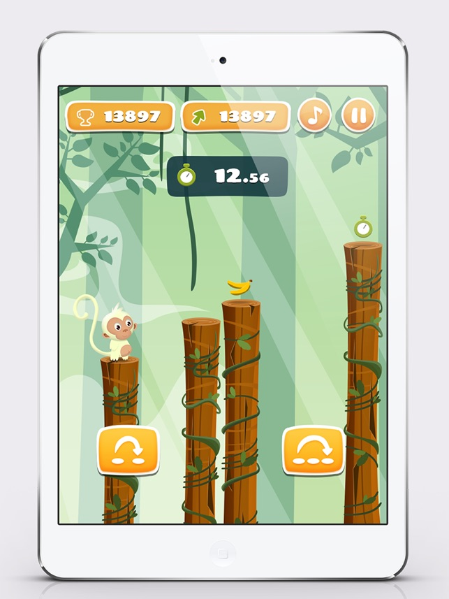 Monkey Jumping - Keep Climbing Screenshot