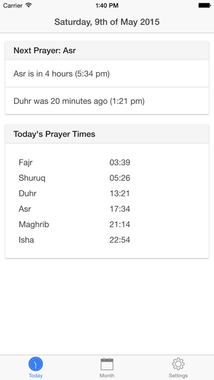Belfast Prayer Times
