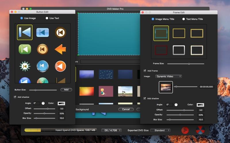 DVD Maker Pro-DVD Creator Burn Screenshot - 5