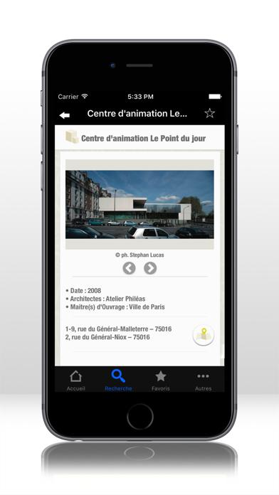 Screenshot #3 pour GUIDE PARIS ARCHI.