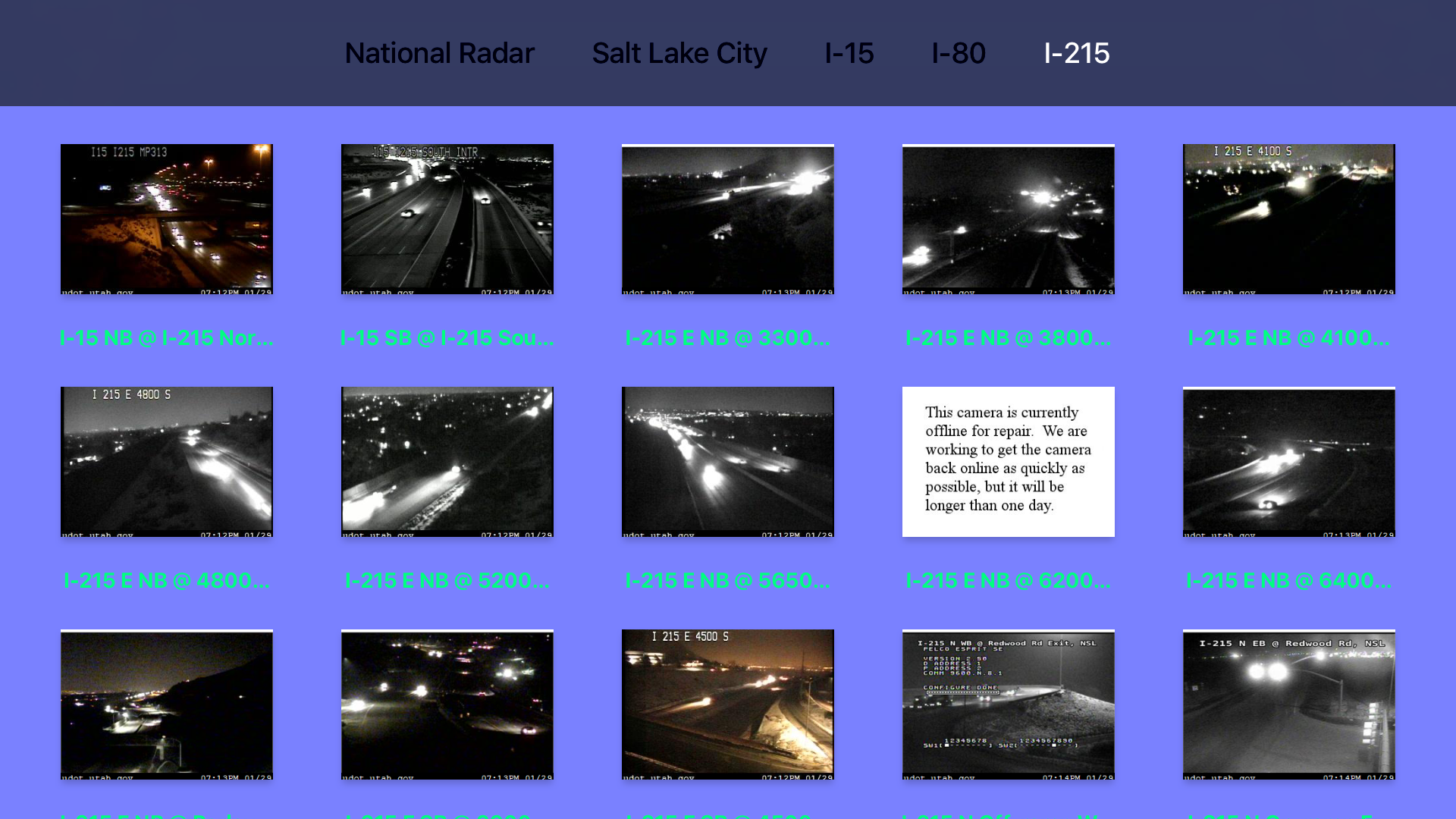 Utah NOAA Radar with Traffic Camera Pro screenshot 12
