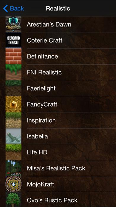 Texture Packs & Creator for Minecraft PC: MCPedia Screenshot