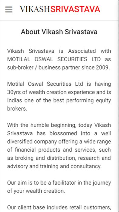 Vikash Srivastava screenshot two