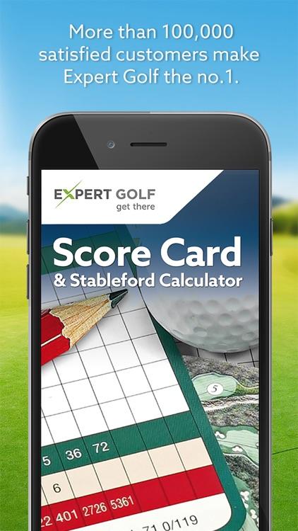 Expert Golf – Score Card & Stableford Calculator