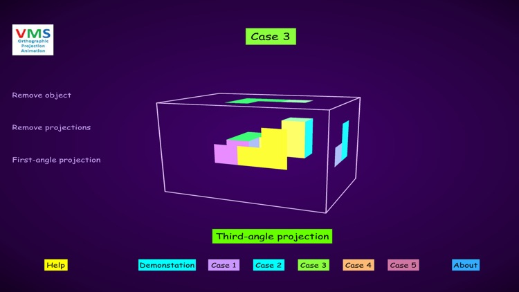 VMS - Orthographic Projection Animation Lite screenshot-3