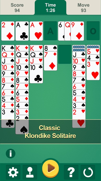 Solitaire - Classic Klondike card game