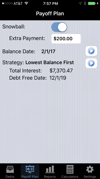 Debt Payoff Pro screenshot-3