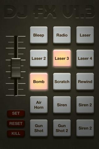 DJFX Custom Soundboard - náhled