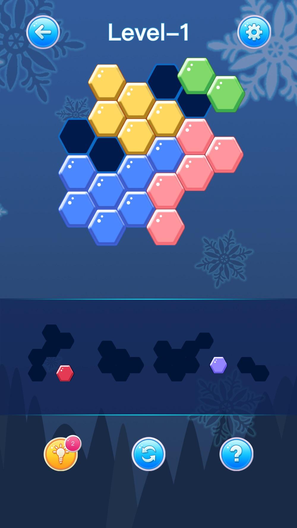 Hexagon Jigsaw hack tool