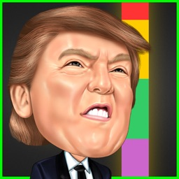 Flappy Trump - Switch Color of the Donald's Hat