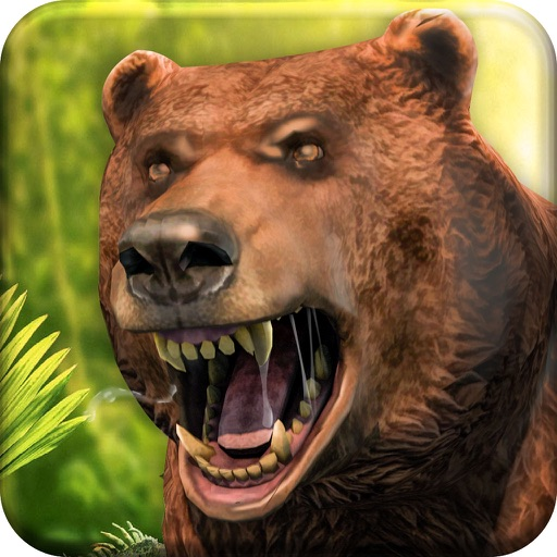 Bear Jungle Attack app logo
