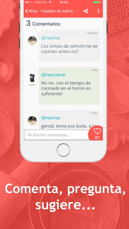 Hatcook Recetas de Cocina screenshot-3