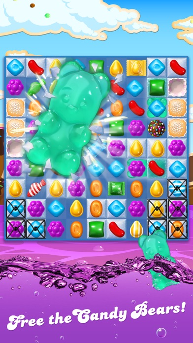 Screenshot of Candy Crush Soda Saga App