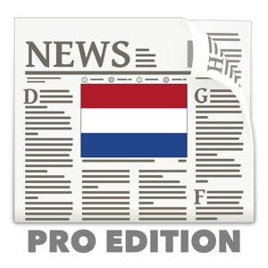 Dutch News in English Pro Edition app