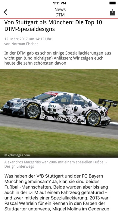 Screenshot for Motorsport-Total.com in Germany App Store