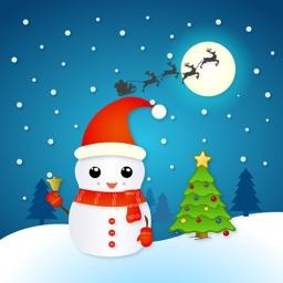 Christmas Snowman - Holiday Emoji