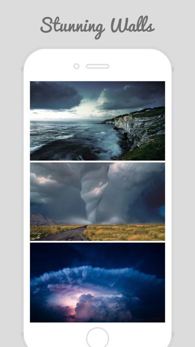 Clouds, Storm, Lightning Lock Screen Wallpapersのおすすめ画像1