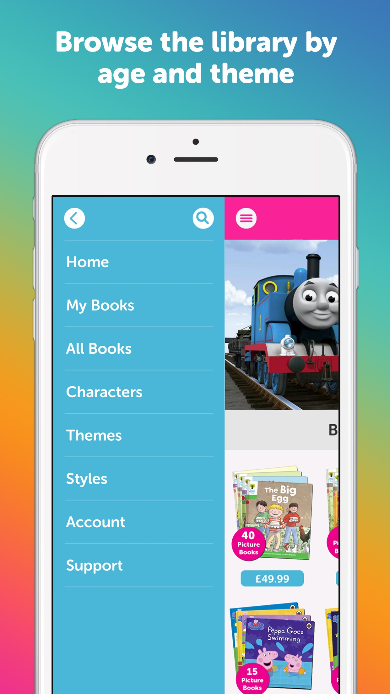 Me Books Screenshot